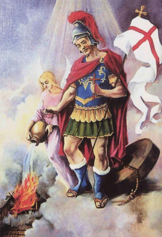"""Bogu na chwałę, bliźniemu na ratunek"""" - Dzień Strażaka - Archiwum Państwowe  w Kaliszu"""